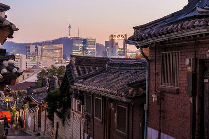 Séoul, centre historique