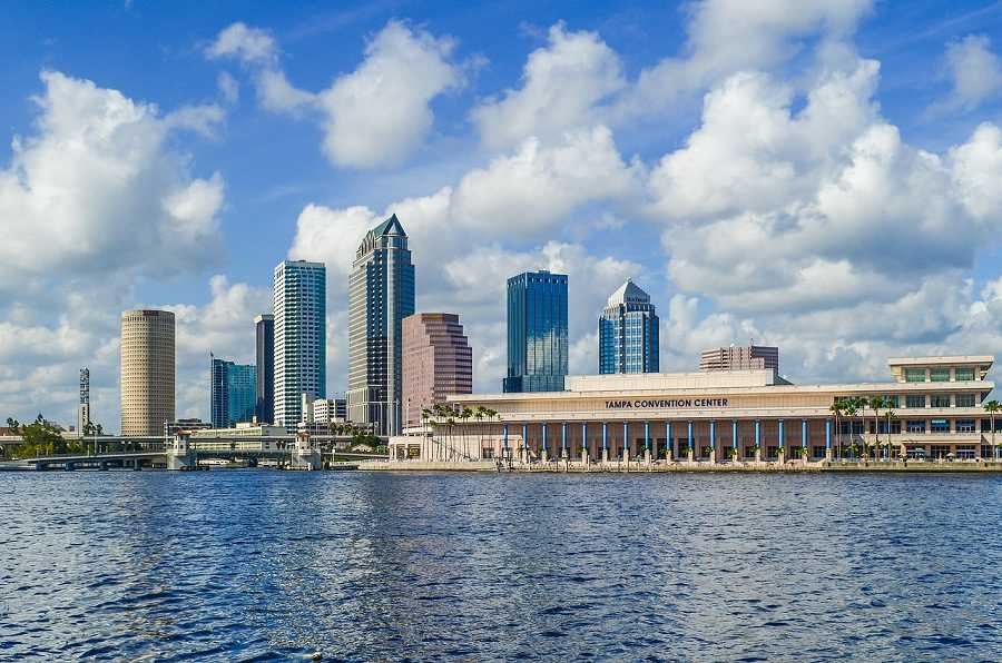 View of Tampa Convention Center
