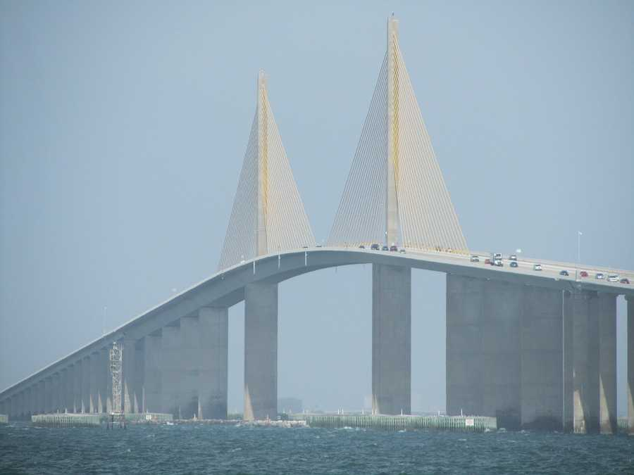 Tampa Sunshine Skyway Bridge