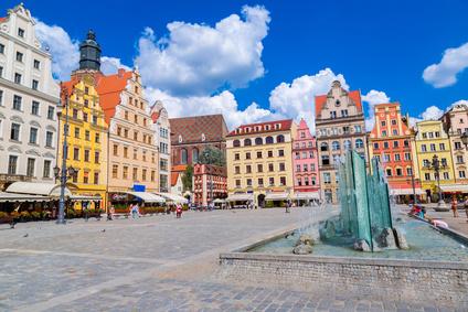 Place du marché de Wroclaw