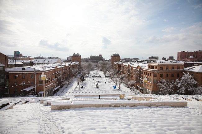 Erevan en hiver