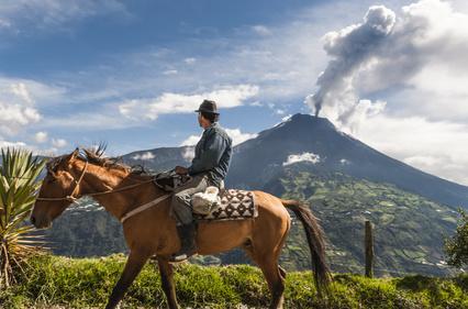 Equateur, volcan Tungurahua