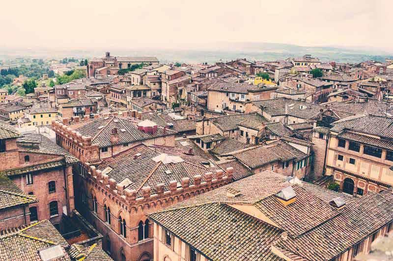 Bolzano station viewpoint
