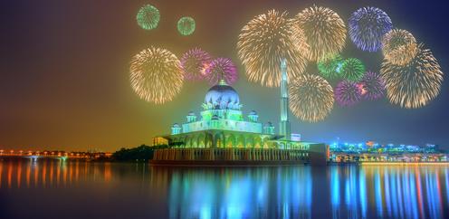 Mosquée Putrajaya, Kuala Lumpur, Malaisie