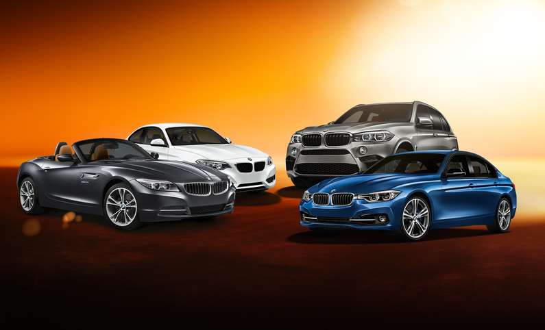 Sixt Car Hire Fleet At Heathrow Airport