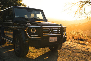 Mercedes-Benz G-Class Side