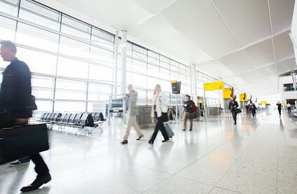 London Heathrow Airport is the busiest airport in the United Kingdom, and also the busiest airport in Europe with regard to total passenger numbers. In terms of worldwide airport statistics, London Heathrow Airport is the third busiest airport. The airport is located 20km west of London City Centre.
