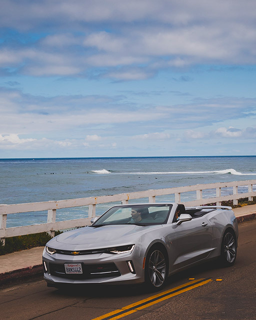 Rent an Exotic Chevrolet Camaro Sports Car