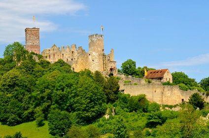 Castle R�tteln - L�rrach