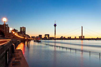 Duesseldorf on best car gps