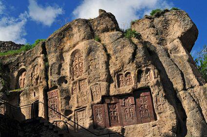 Armenien - monastery of Geghard