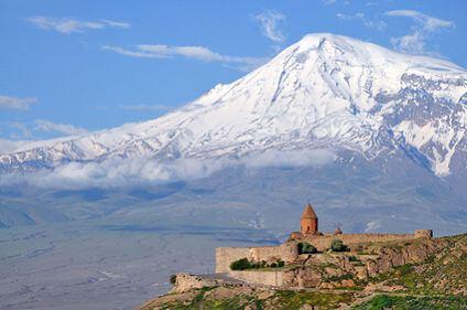 Armenien -  Sacred Khor Virap Monastery
