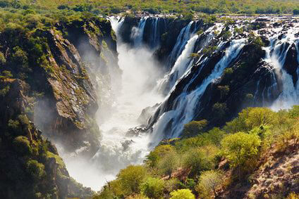 Angola - Ruacana Falls