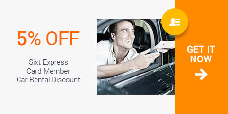 Sixt Car Rental Military Discount