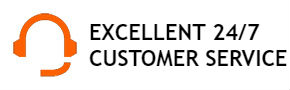 Excellent 24/7 customer care