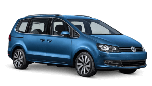 Rent a 7-seater minivan